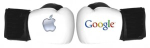 google vs apple fight