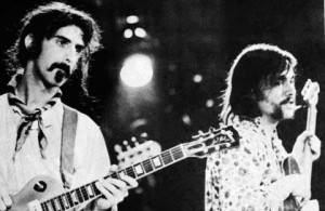Zappa with Lowell George.